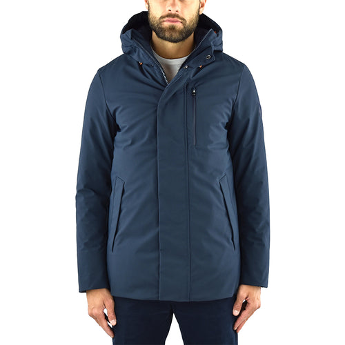 Artic Parka Corto SAVE THE DUCK P3791M Smeg9 Blu