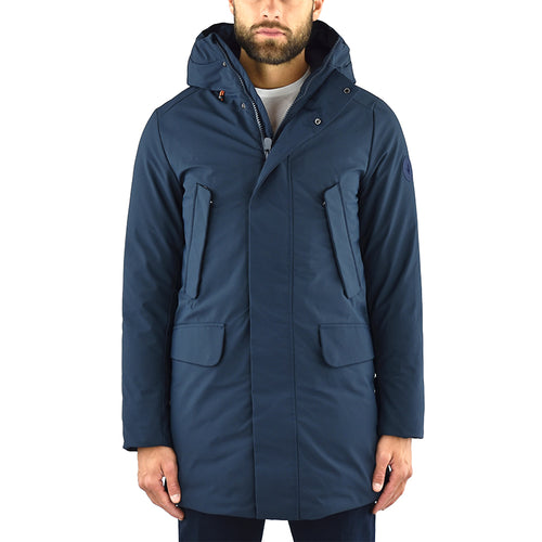 Artic Parka SAVE THE DUCK P4532M Smeg9 Blu