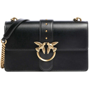 Borsa PINKO Classic Love Bag Icon Simply in Pelle Nera
