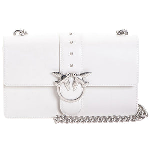 Borsa PINKO Love Bag Simply in Pelle Bianca