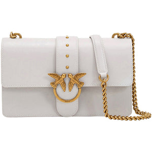 Borsa PINKO Love Classic Icon Simply in Pelle Ghiaccio