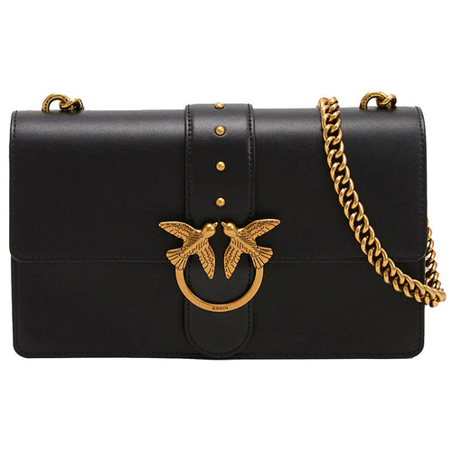 Borsa PINKO Love Classic Icon Simply in Pelle Nera