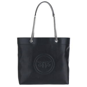 Borsa PINKO Love Love New Monogram Nera