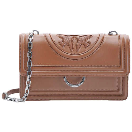 Borsa PINKO Love New Monogram Cuoio