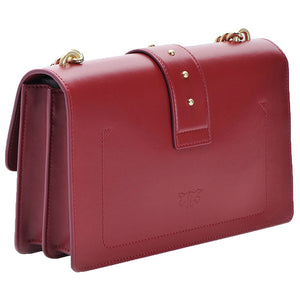 Borsa PINKO Love Simply Dark Red