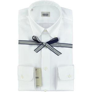 Camicia GHERARDI Button Down in Oxford Bianca