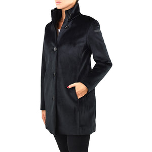 Cappotto RRD Neo Velvet Coat Lady Nero