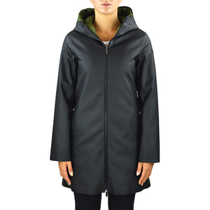 Cappotto Impermeabile RRD Double Rubber Parka Lady Nero