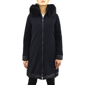 Cappotto Piumino RRD Light Winter Coat Lady Fur T Nero