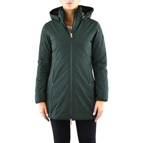 Cappotto Piumino SAVE THE DUCK D4006W Matt7 Verde Scuro