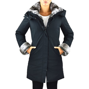 Cappotto Piumino SAVE THE DUCK P4280W Smeg9 Nero