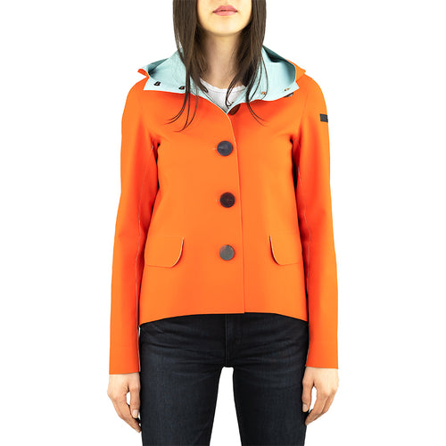 Giacca RRD Summer Color Hood Lady Arancio