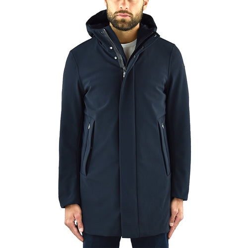 Giaccone Parka RRD Winter Eskimo Blue Black