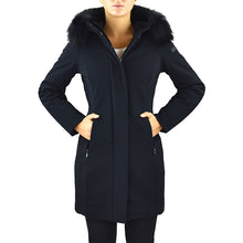 Giaccone Parka RRD Winter Long Lady Fur T Nero