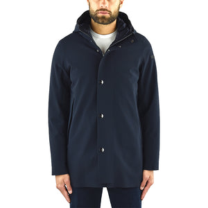 Giaccone RRD Down Under Parka Blue Black