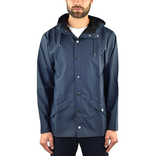 Giubbino RAINS Jacket Blu