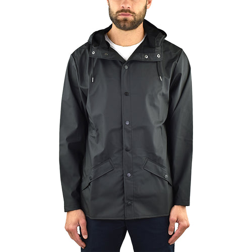 Giubbino RAINS Jacket Nero