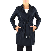 Impermeabile RRD City Trench Lady Blue Black