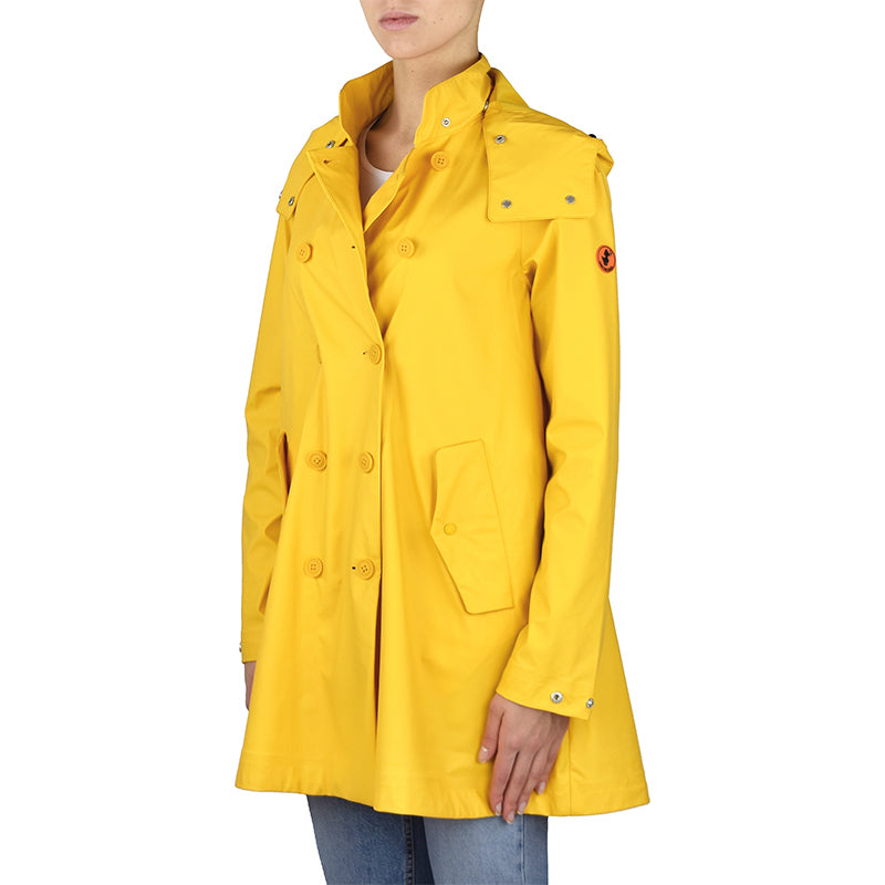 Impermeabile SAVE THE DUCK D4312W Giallo