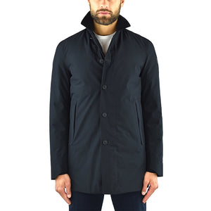 Impermeabile SAVE THE DUCK D4418M Hero9 in Gore-Tex Nero