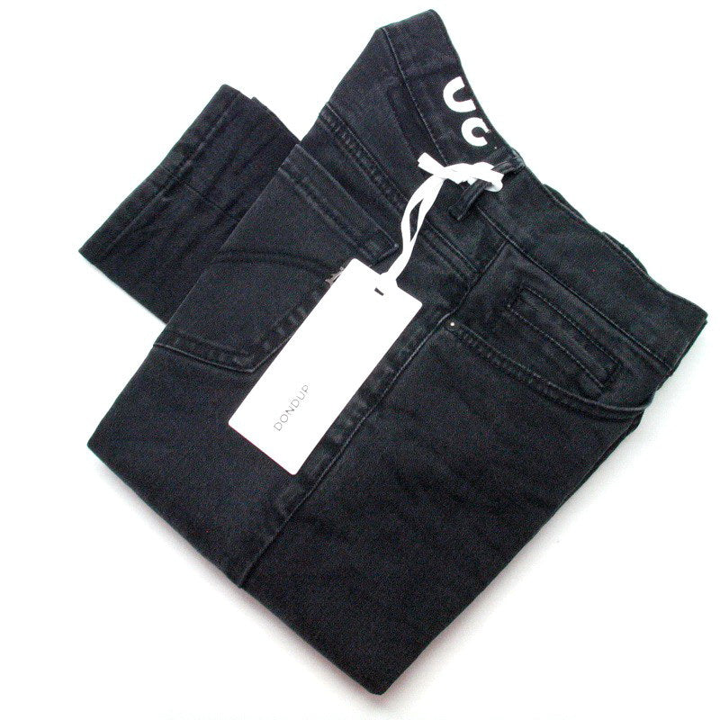 Jeans DONDUP GEORGE UP232 DS155UV M77 Nero Lavato