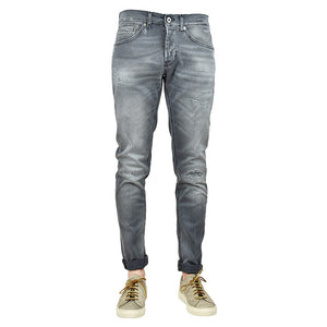 JEANS DONDUP GEORGE UP232 DS156UV O10N GRIGIO STRAPPATO