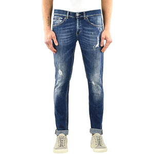 Jeans DONDUP George UP232 Lavaggio Medio Strappato