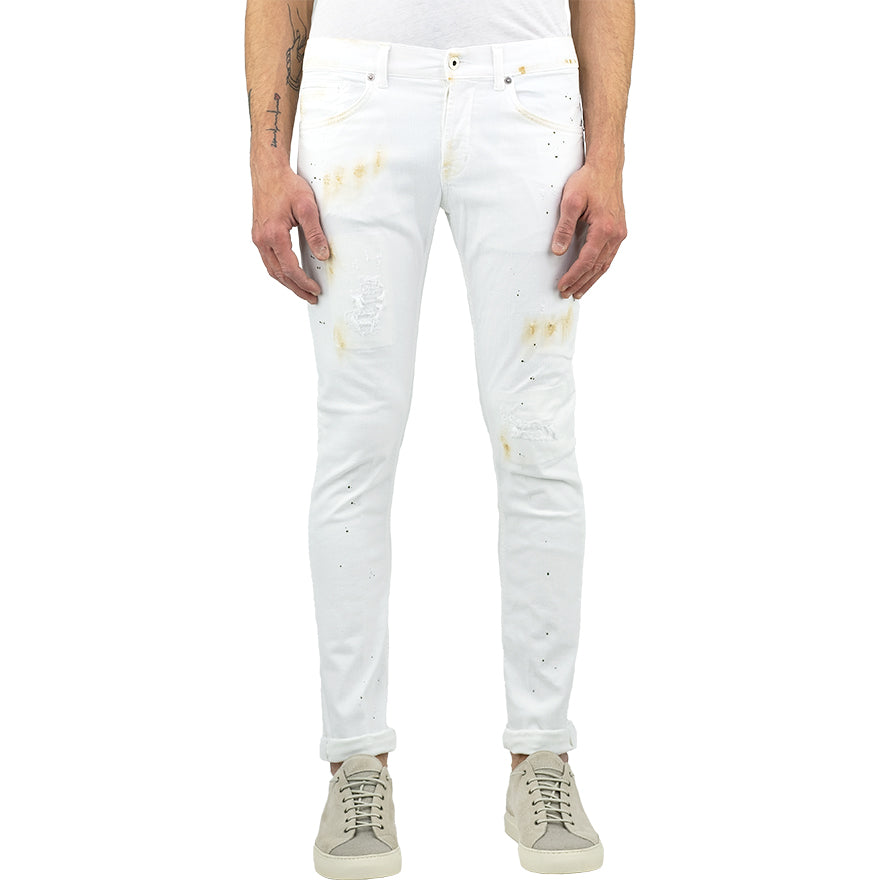 Jeans DONDUP George UP232 Macchiato Bianco