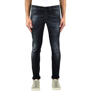 Jeans DONDUP George UP232 Nero Lavato