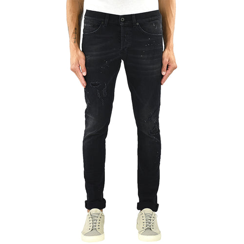Jeans DONDUP George UP232 Nero Strappato