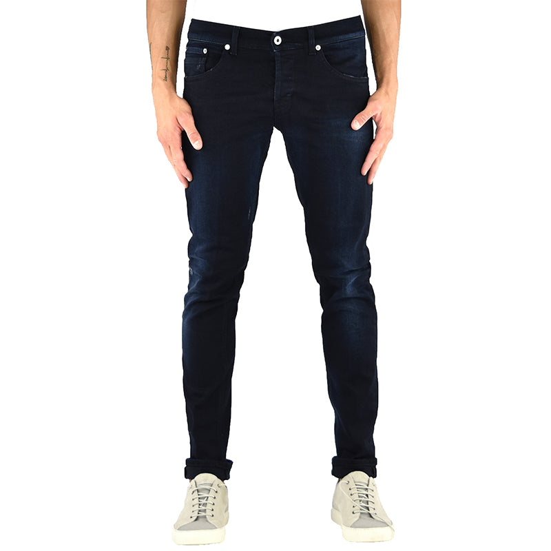 Jeans DONDUP Ritchie UP424 Blu Black