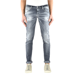 Jeans DONDUP Ritchie UP424 Grigio Lavato