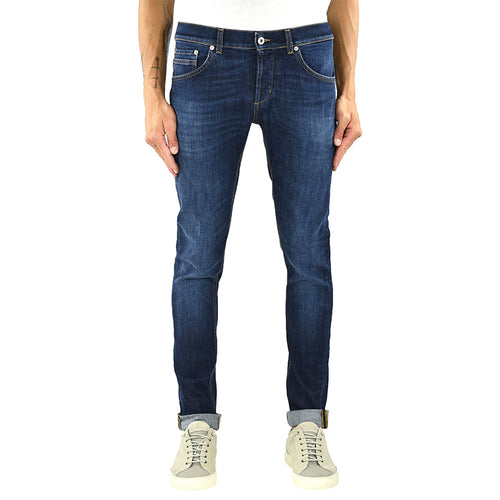 Jeans DONDUP Ritchie UP424 Lavaggio Medio Scuro