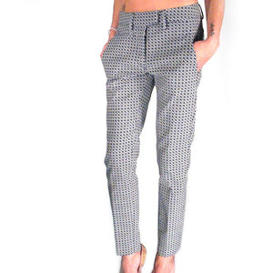 Pantalone DONDUP PERFECT Fantasia Blu Grigio DP066