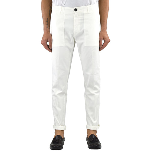 Pantalone DEPARTMENT 5 Prince Fatique Bianco Latte