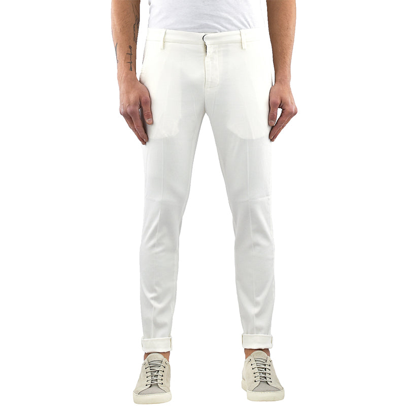 Pantalone DONDUP Gaubert UP235 Bianco Latte