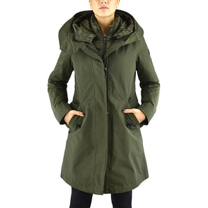 Parka WOOLRICH W'S Long Military Parka Verde Militare