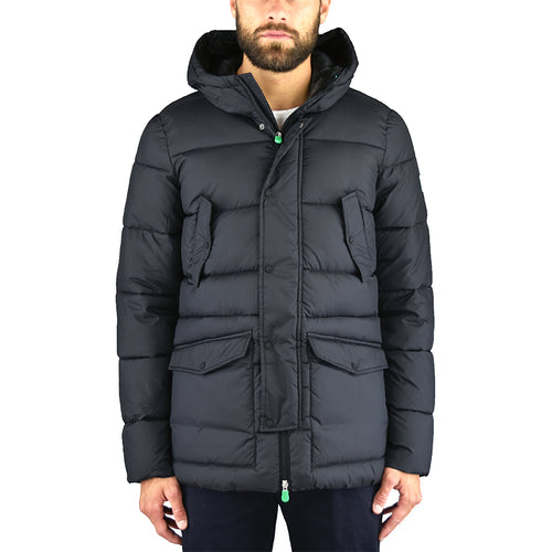 Piumino Parka SAVE THE DUCK D3014M Warm7 Nero
