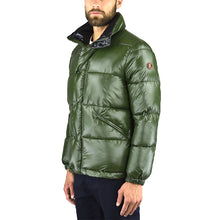 Piumino SAVE THE DUCK Y3039M Luck7 Verde Militare