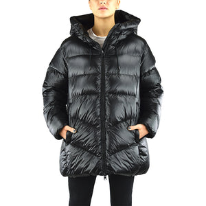 Piumino WOOLRICH W'S Packable Birch Nero