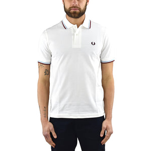 Polo FRED PERRY M12 Bianca
