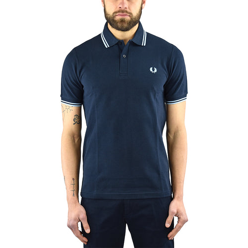 Polo FRED PERRY M12 Blu
