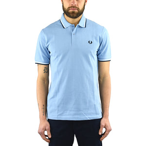 Polo FRED PERRY M12 Celeste