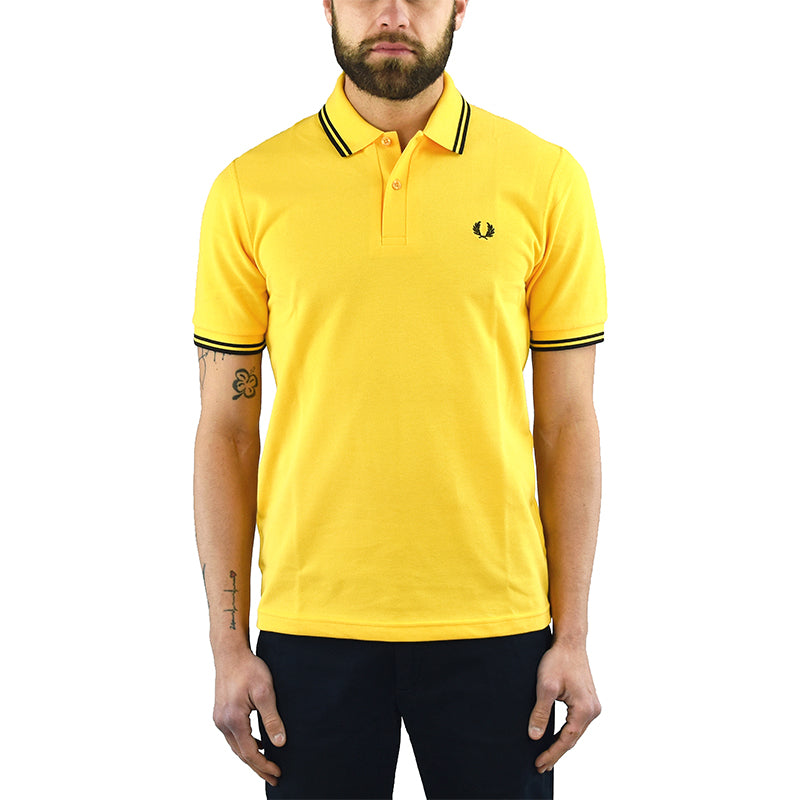 Polo FRED PERRY M12 Gialla