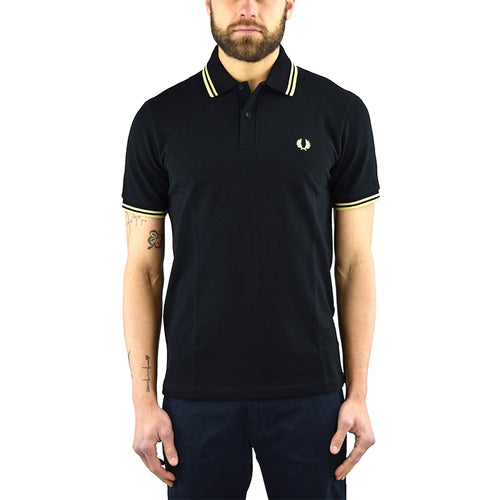 Polo FRED PERRY M12 Nera