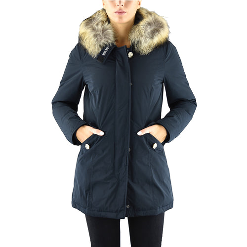 WOOLRICH W'S Luxury Artic Parka Blu