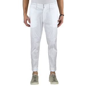 Pantalone DONDUP Frankie UP477 Bianco