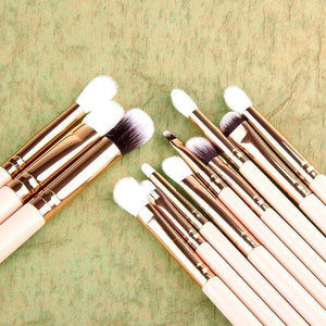 12pcs Professional Full Makeup Brush Set for Women-MakeUp Brushes-Sour Grapes Online-