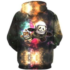 3D Hoodies - Pocket Sweatshirts Casual Long Sleeve Tops Sportswear-Hoodies-Sour Grapes Online-Brown-S-