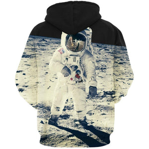 3D Print Hoodies - Space Astronaut Themed Pullover-Hoodies-Sour Grapes Online-As Picture-S-